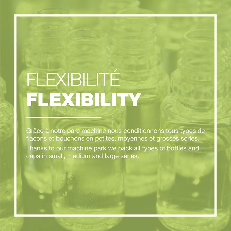 flexibilité, usine eliquide